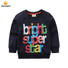 New Autumn Long Sleeve Letter Printed Baby <strong>Children</strong> Clothes Boys Kids <strong>Hoodies</strong>