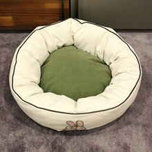 Pet products cotton cheap comfortable dog bed for sale