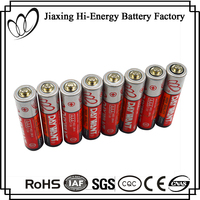 Fashion Designer R03 AAA 1,.5V PVC Jacket Zinc Carbon Dry Cell Battery