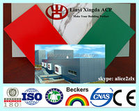 Aluminum Composite Panel ACP Decorative Exterior Cladding Mateirals