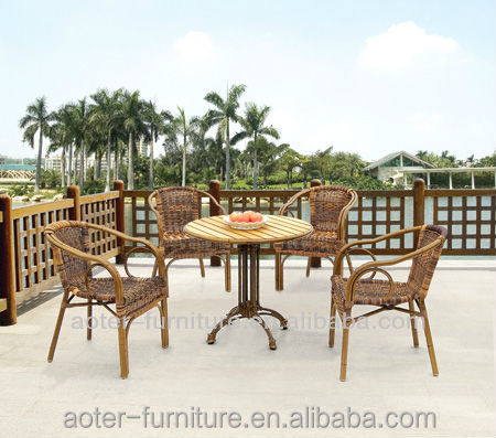 Beautiful uv-resistance wicker furniture