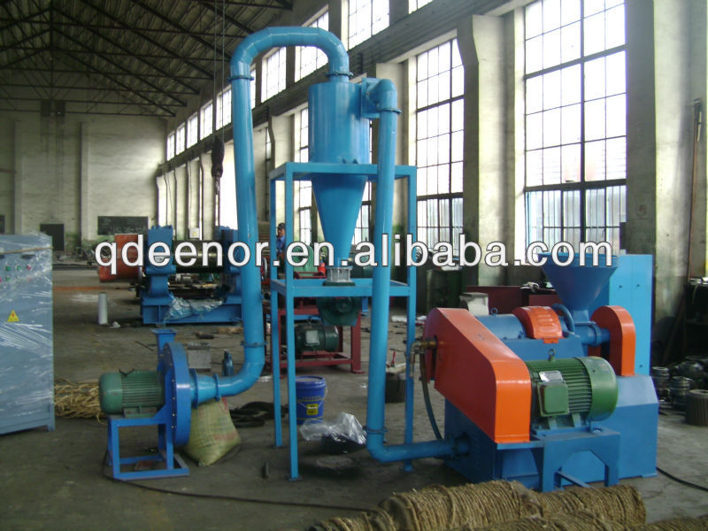 Rubber Fine Powder Crusher / Crumb Rubber Grinding Machine