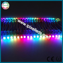 DC5V addressable rgb pixel 12mm led string 2811