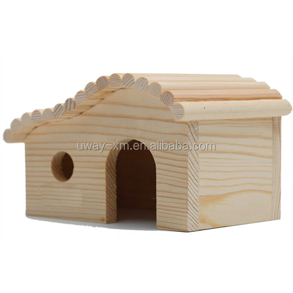Eco-friendly hamster wood house,pet house