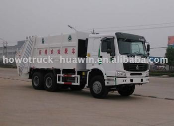 25 ton compactor garbage truck