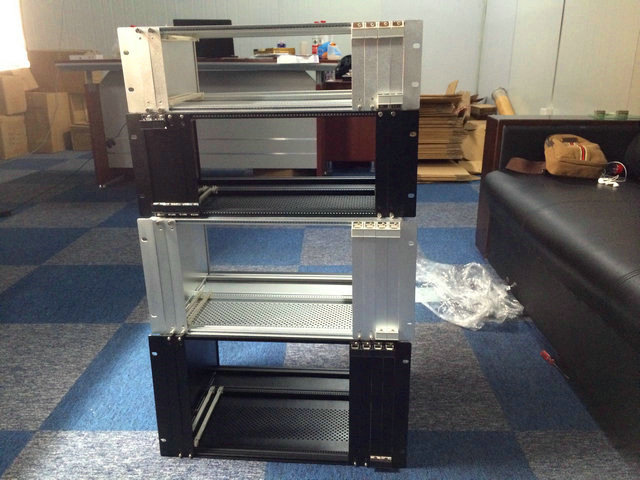 "4u/ 177*483*450mm PXI case (PCI extensions for Instrumentation) 19"" server full aluminum custom depth"