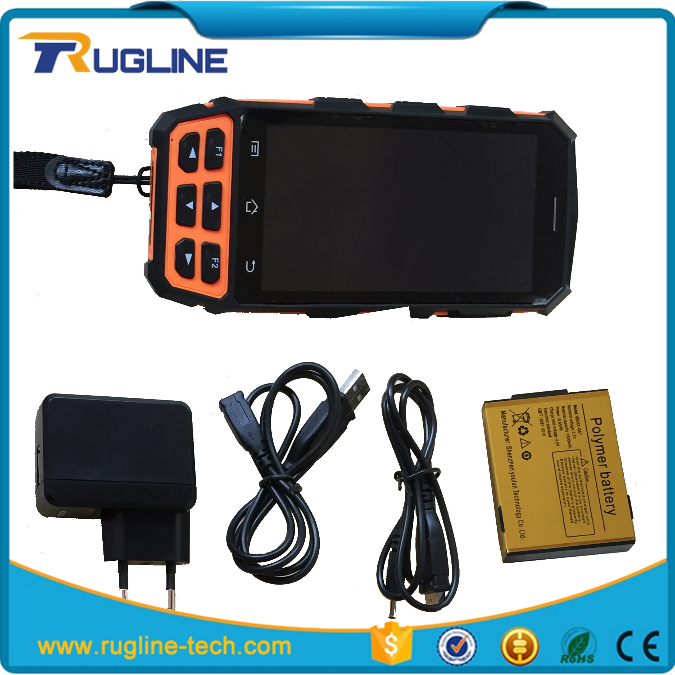 Wireless PDA terminal 4G LTE android handheld pda test senter st327 for Dispatch & Delivery tracking