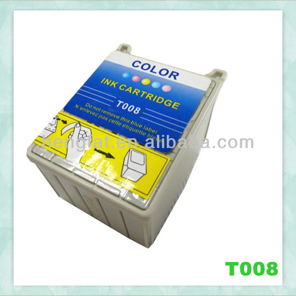 refillable ink cartridge T008 Compatible ink cartridge T008 for Epson