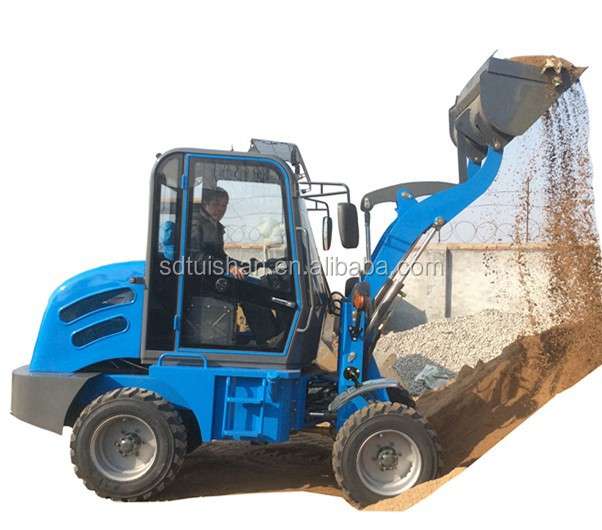 ZLY908 Agricultural Loader Compact Small End Wheel Loader 0.8TON
