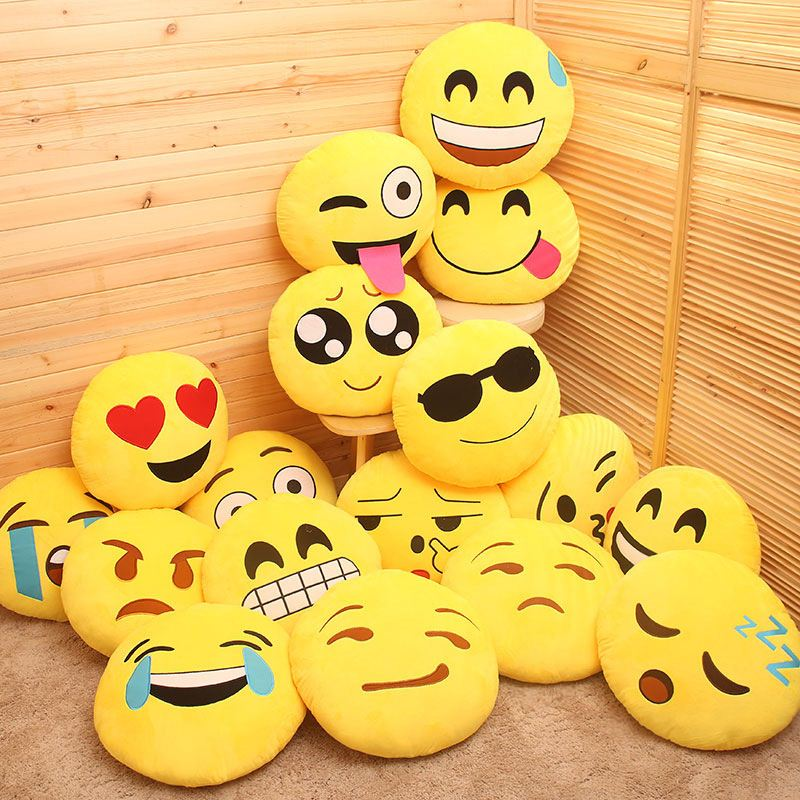 Cushion Sofa Cushion Plush Toy Doll Factory Emoji Keychain - Buy ...