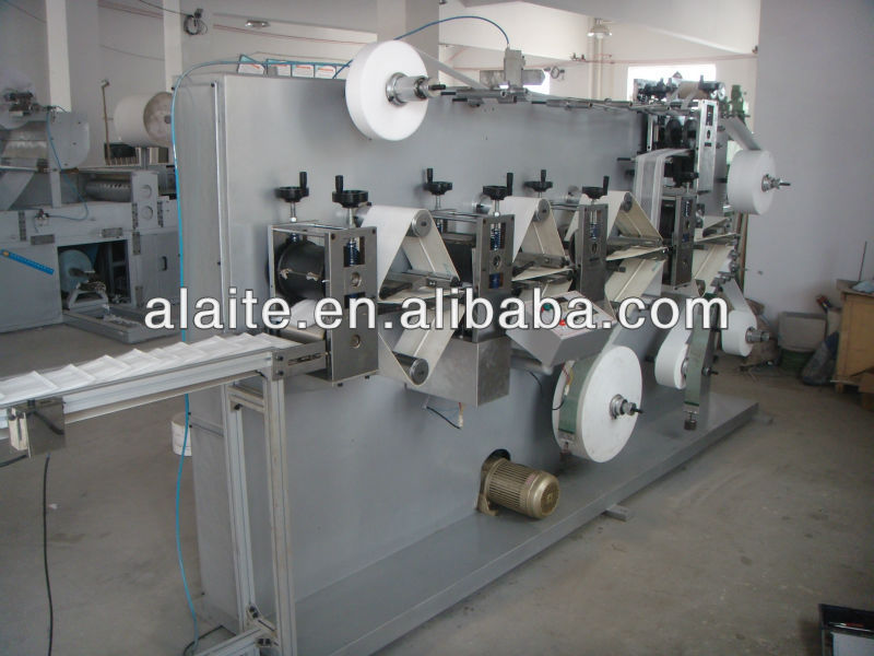 for cleaning floor mop pad making machine
