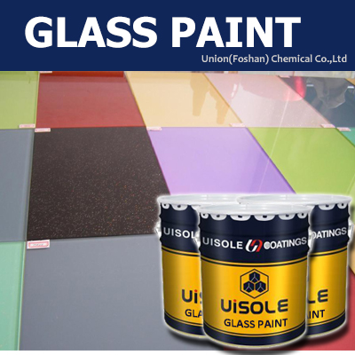 Good adhesion epoxy paint for glass paint home decoration