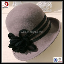 china fashion cheap purple fedora hat for women