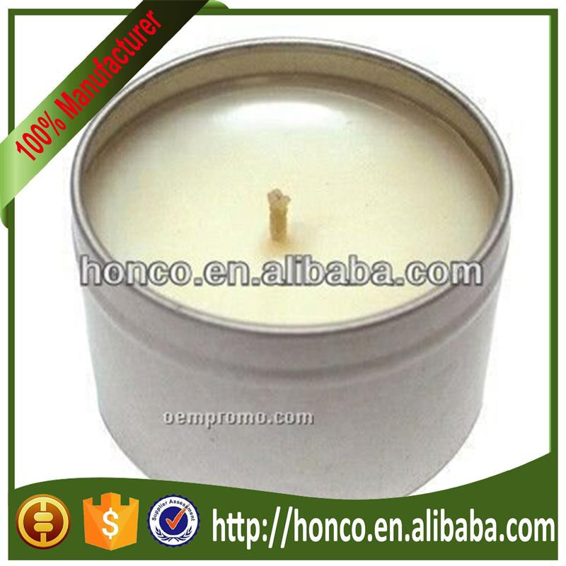 Alibaba hot selling can candle with CE certificate Different specifications and sizes
