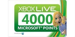 360 live 4000 points card