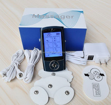 8 12 16 24 modes protable pain relieve TENS device,massage pro muscle nerve stimulator,mini TENS&EMS massager