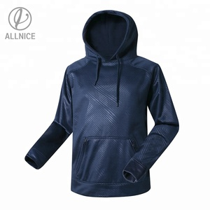 Men's OEM Classic Embossed Pullover Jacket Boys High Street Hooded Sweatshirt School Sports Camping Outdoor Apparel