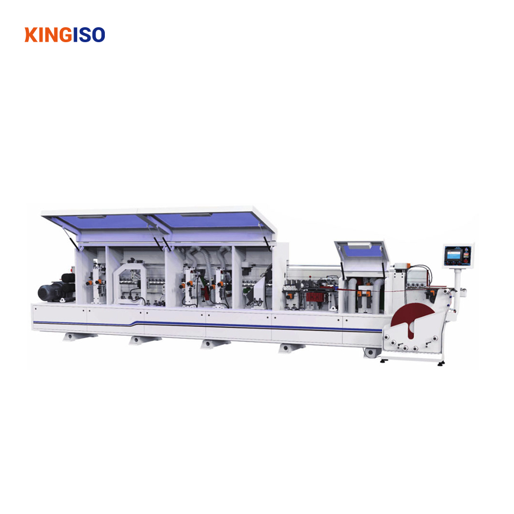 MFZ609 mdf wood board woodworking automatic abs edge banding machine
