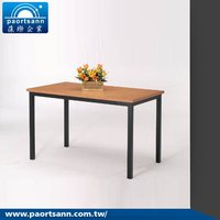 4 seater wooden dining table designs furniture made in taiwan