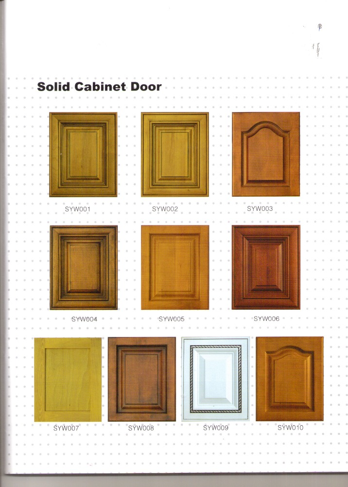 Cheap No Handle Cabinet Door modular Kitchen Cabinet