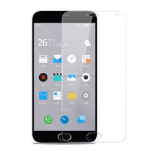 Full Cover 0.3m 9H mobile phone Tampered Glass Screen Protector Sheet For meizu