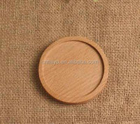 Round Wooden Kitchen Placemats