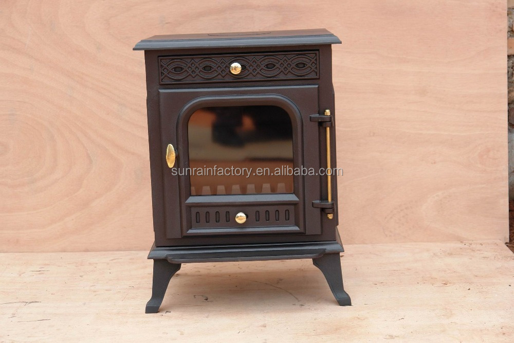 indoor metal fireplace stove /cast iron wood burning stove(JA009)