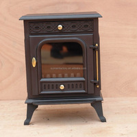 Indoor Metal Fireplace Stove Cast Iron