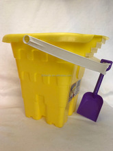 "10.5"" square Castle Pail & Shovel"