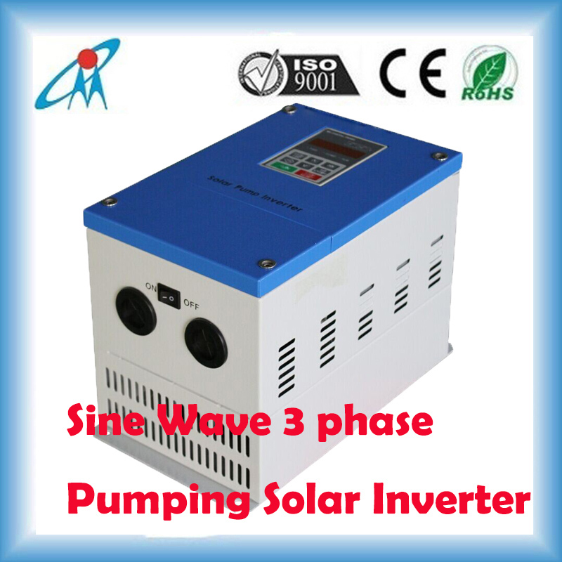 MPPT 500~600Vdc to 380~440Vac 45000W Solar charger Sine Wave 3 phase pumping Inverter