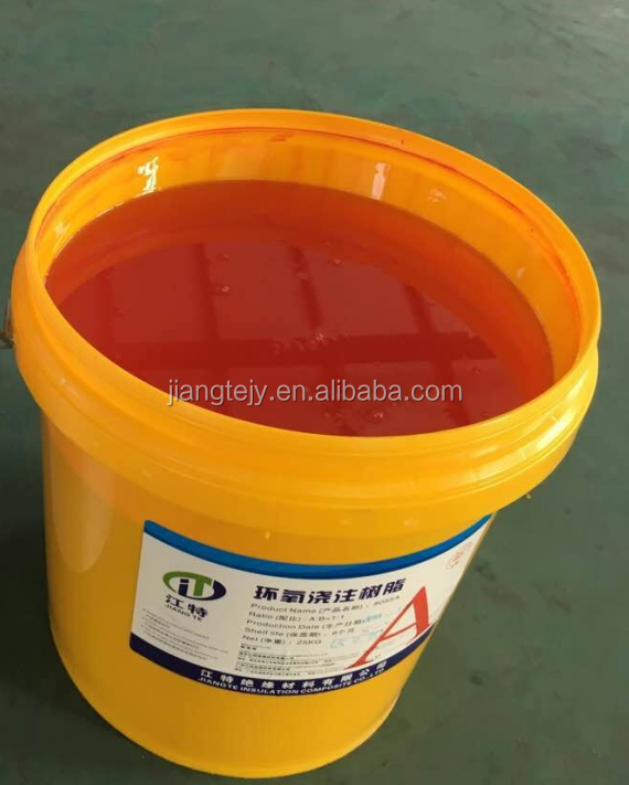 Bisphenol A epoxy resin for dry electric transformer