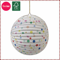 Hot New Products for 2014 Lantern in Tissue Paper for Home Decor