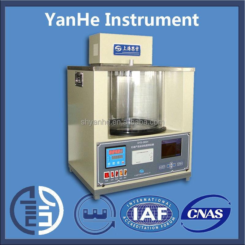 Syd-265h Intelligent Liquid Petroleum Kinematic Viscometer In ...