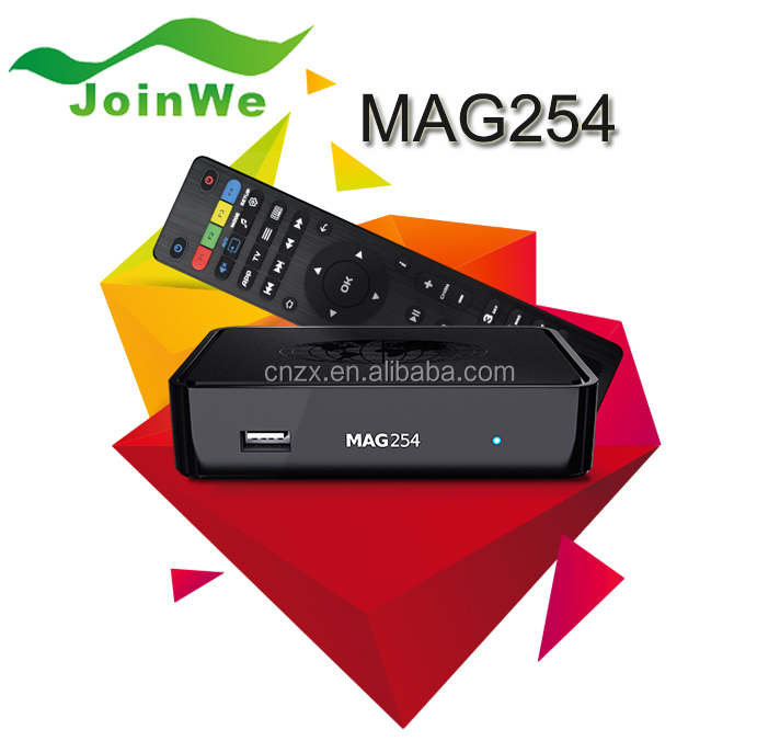 Mag 250/Mag 254 Linux system IPTV Box Free TV with Kodi IPTV Set Top Box