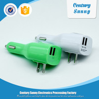 Mini multifunction USB car charger for phone