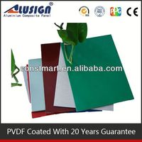 Exterior roofs facade cladding pvdf coated aluminum sheet.aluminum composite panel