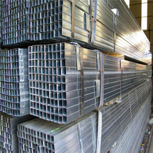 a36 q235 GI RHS q195 pre galvanized square steel tube for Solar power station Structure support