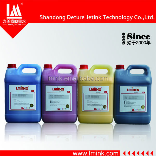 Popular spectra 128/256 solvent ink from Shandong Deture