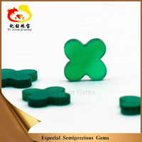 Jewelry furniture natural onyx stone four leaf clover
