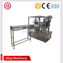 Spouted pouch ponegranate fill and screw cap packing machine