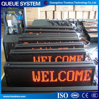 Tonsincs Dot Matrix queue management system led display