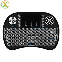 Xlintek RII Mini i8 2.4g air mouse with keyboard for smart tv