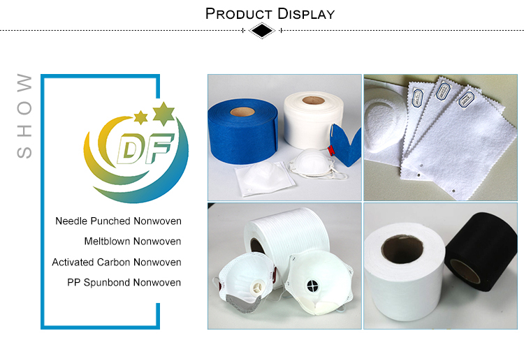 New durable polyester polypropylene activated carbon nonwoven fabric roll