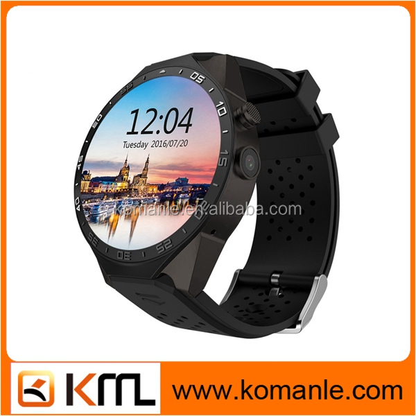 latest Wifi Android KW88 wrist watch tv mobile phone