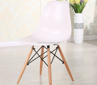 New design arrival pp dining chair with wood legs