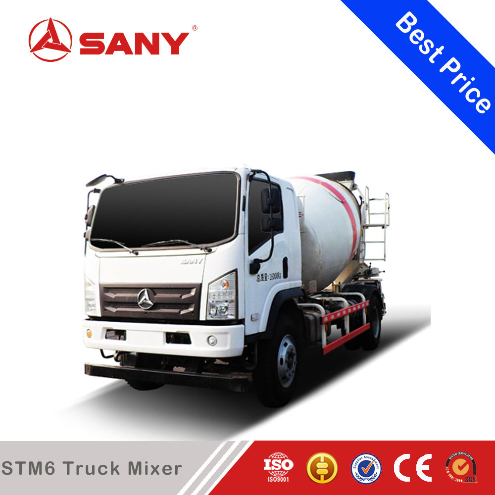 SANY STM6 6 m3 Diesel Mobile Concrete Cement Mixer Truck Price in India