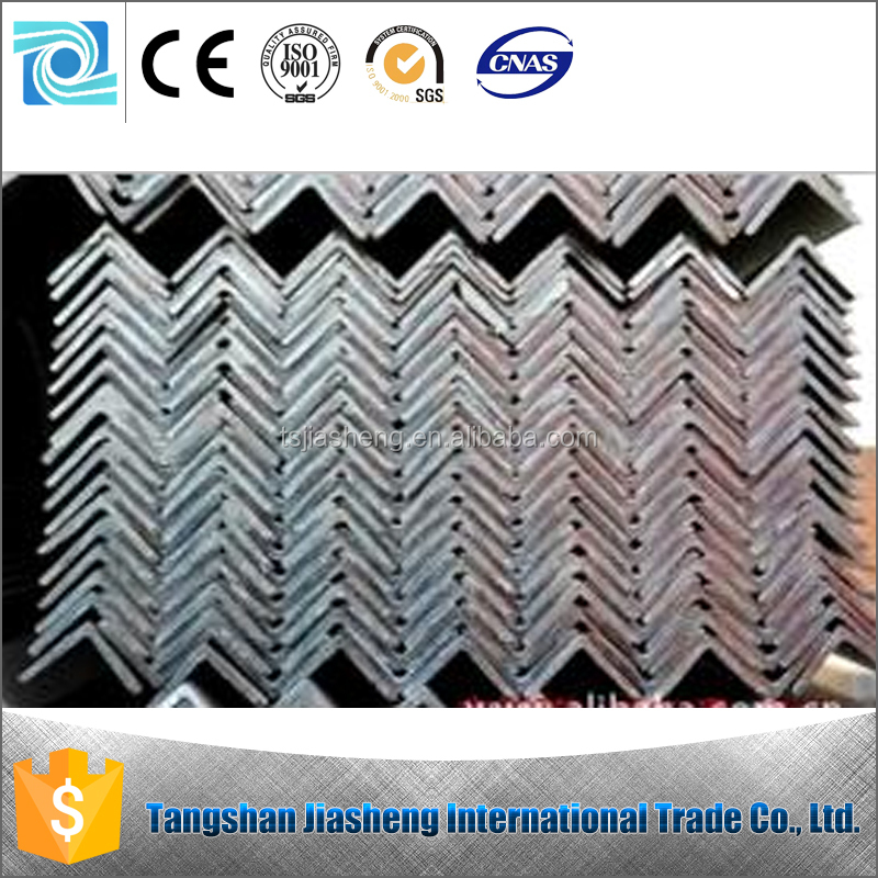 China equal angle steel in low price