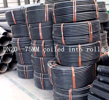 Cheap price China manufacturer agricultural usage hdpe farm irrigation pipe