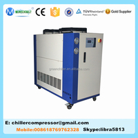 Hot Precision Water Temperature Control Unit 11420 Kcal/h Air Cooled Chiller for Plastic Processing