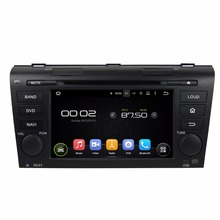 factory supply quad core 16GB Android5.1.1 capacitive screen mirrorlink android car dvd player for Mazda3 2004-2009